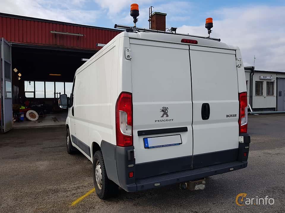 Bak/Sida av Peugeot Boxer Van 2.2 HDi Manual, 130ps, 2014