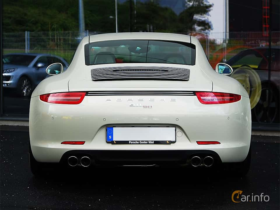 Bak av Porsche 911 Carrera S 3.8 H6 Manual, 400ps, 2014