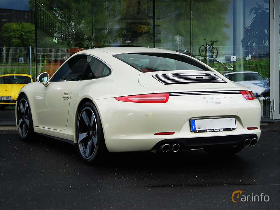 Bak/Sida av Porsche 911 Carrera S 3.8 H6 Manual, 400ps, 2014