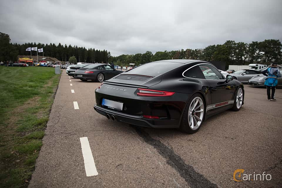 Back/Side of Porsche 911 GT3 4.0 H6 Manual, 500ps, 2018 at Autoropa Racing day Knutstorp 2018