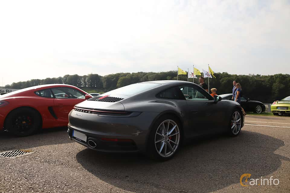 Back/Side of Porsche 911 Carrera S  PDK, 450ps, 2020 at Autoropa Racing day Knutstorp 2019