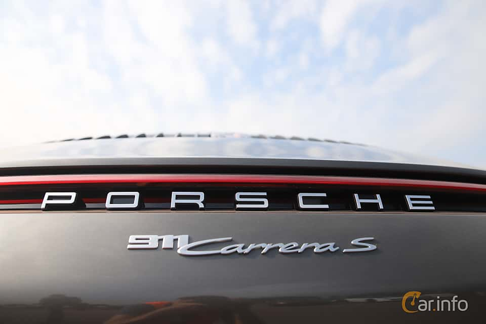 Close-up of Porsche 911 Carrera S  PDK, 450ps, 2020 at Autoropa Racing day Knutstorp 2019