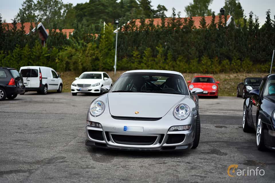 Front  of Porsche 911 GT3 3.6 H6 Manual, 415ps, 2007