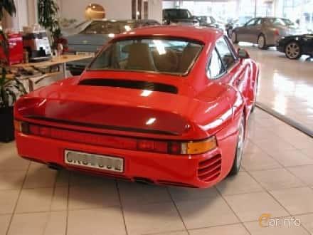 Back/Side of Porsche 959 2.8 4 Manual, 450ps, 1986