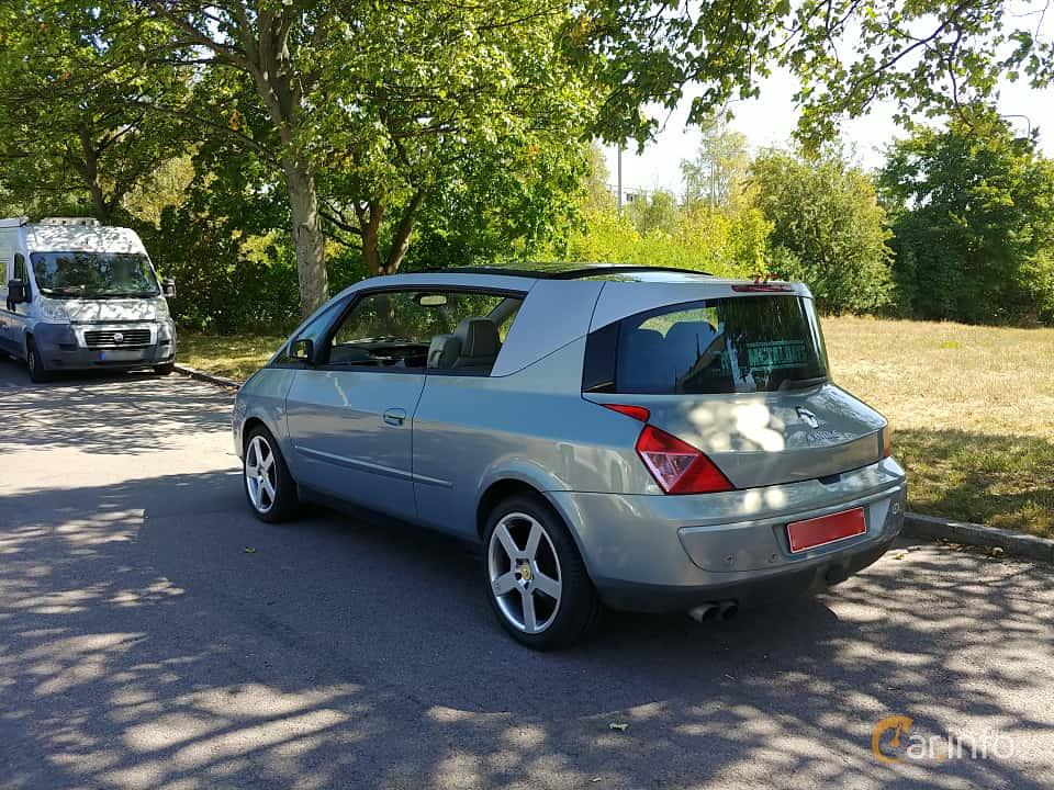 Back/Side of Renault Avantime 3.0 V6 Automatic, 207ps, 2002