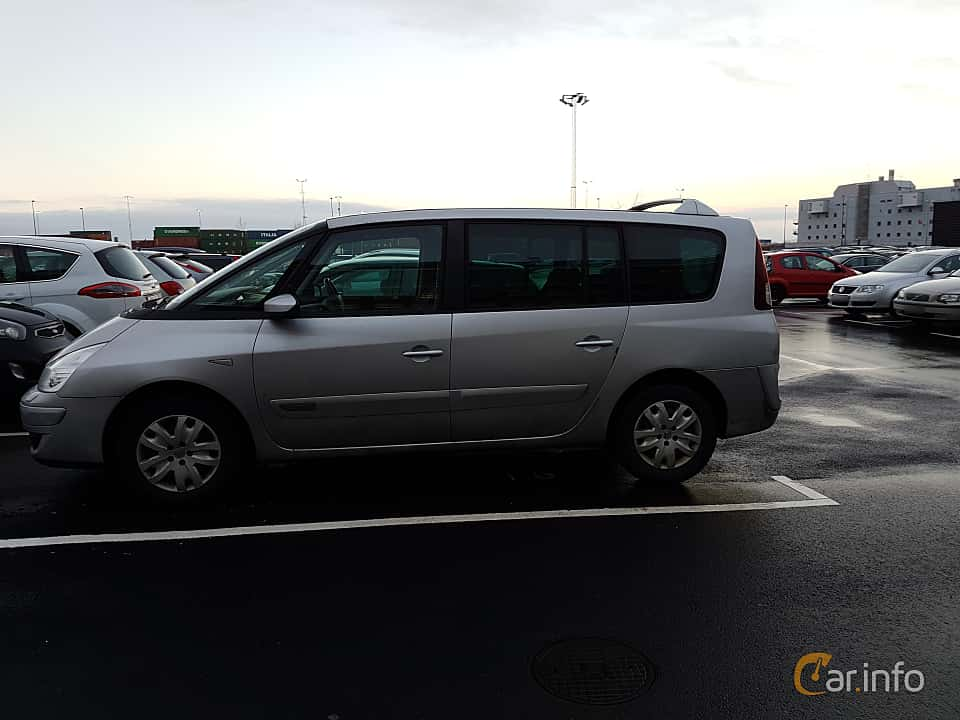 Side  of Renault Grand Espace 2.0 TCe Automatic, 170ps, 2007