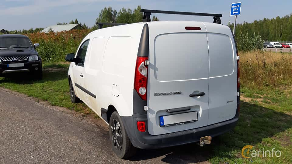 Back/Side of Renault Kangoo Express Maxi 1.5 dCi Manual, 109ps, 2013