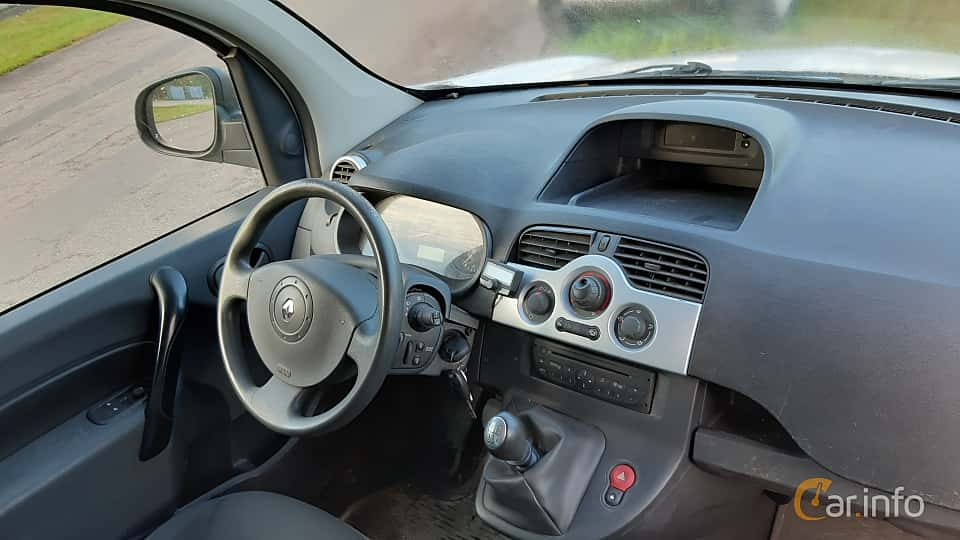 Interior of Renault Kangoo Express Maxi 1.5 dCi Manual, 109ps, 2013