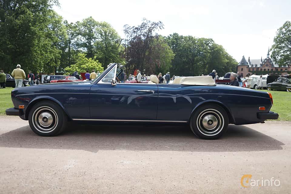 Side  of Rolls-Royce Corniche Convertible 6.8 V8 Automatic, 200ps, 1975 at Sofiero Classic 2019