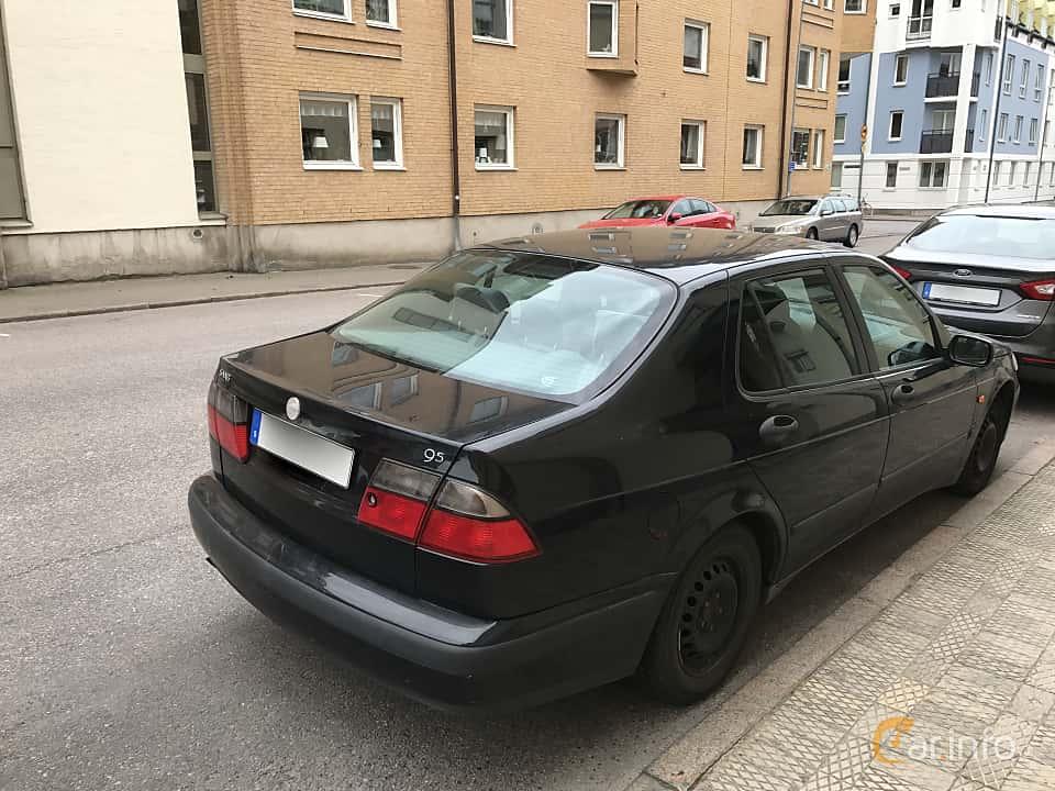 Back/Side of Saab 9-5 SportSedan 2.0 T Manual, 150ps, 2000