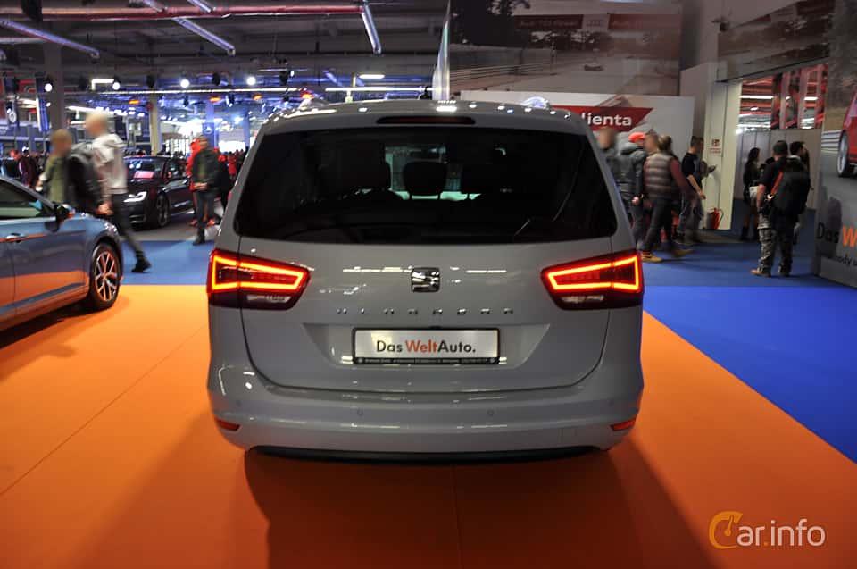 Back of SEAT Alhambra 2018 at Warsawa Motorshow 2018