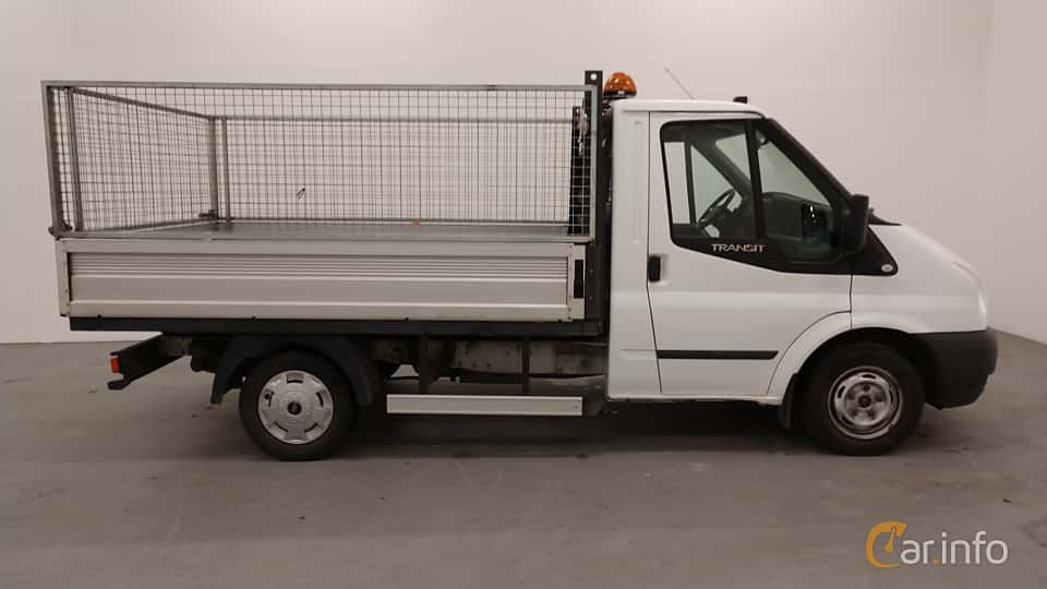 Side of Ford Transit Chassis Cab 2.2 TDCi Manual, 101ps, 2013