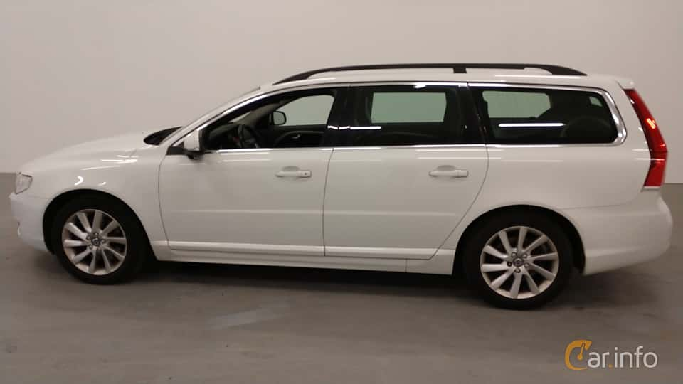 Side  of Volvo V70 D4 AWD Geartronic, 181ps, 2016