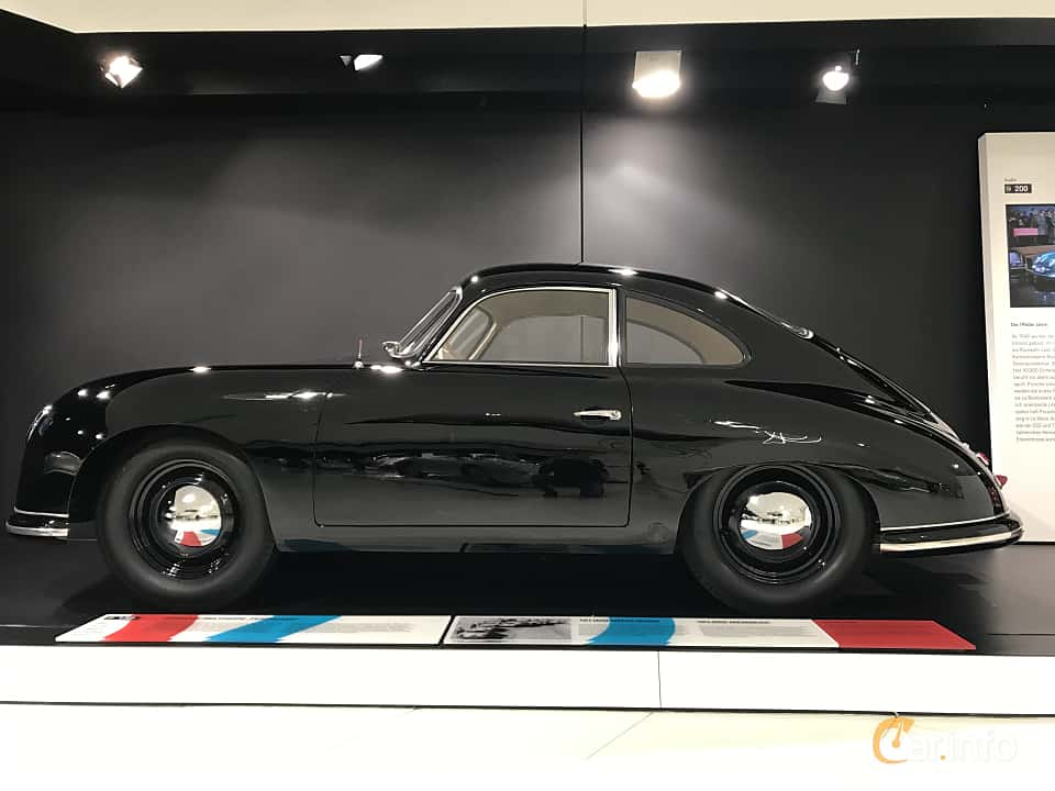 Sida av Porsche 356 1100 Coupé 1.1 Manual, 40ps, 1950