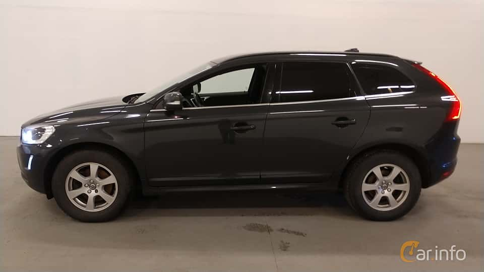 Side  of Volvo XC60 D4 AWD Manual, 190ps, 2016