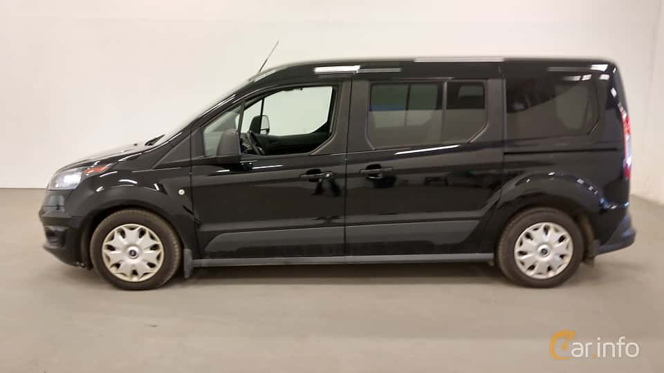 Side  of Ford Tourneo Connect LWB 1.5 TDCi SelectShift, 120ps, 2016