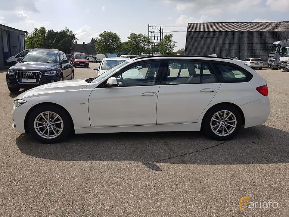 Sida av BMW 320d EfficientDynamics Edition Touring  Steptronic, 163ps, 2016