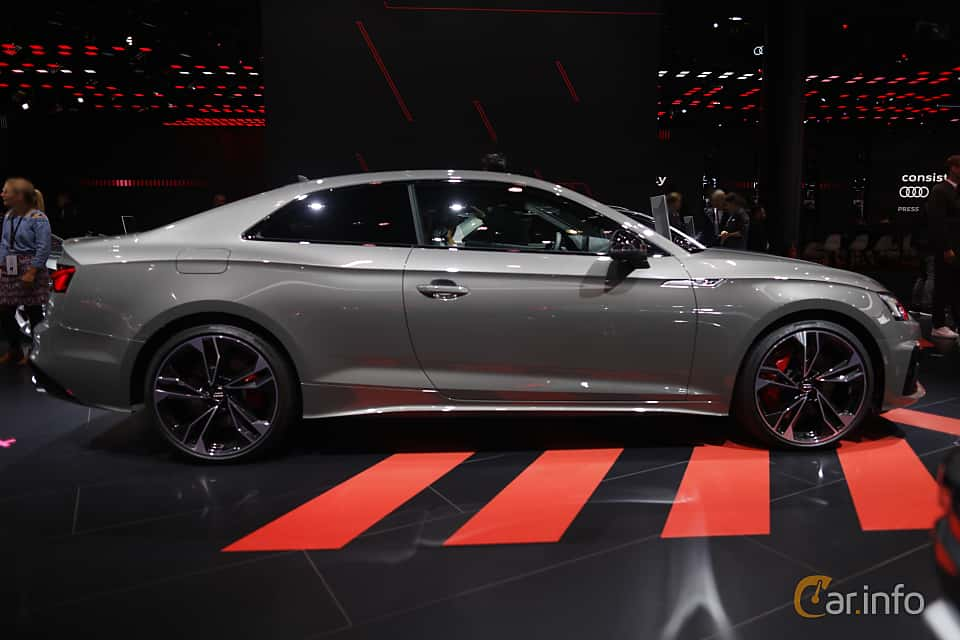 Side  of Audi S5 TDI Coupé 3.0 TDI quattro TipTronic, 347ps, 2020 at IAA 2019