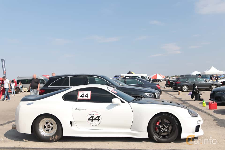 Side  of Toyota Supra 1993 at Proudrs Drag racing Poltava 2019