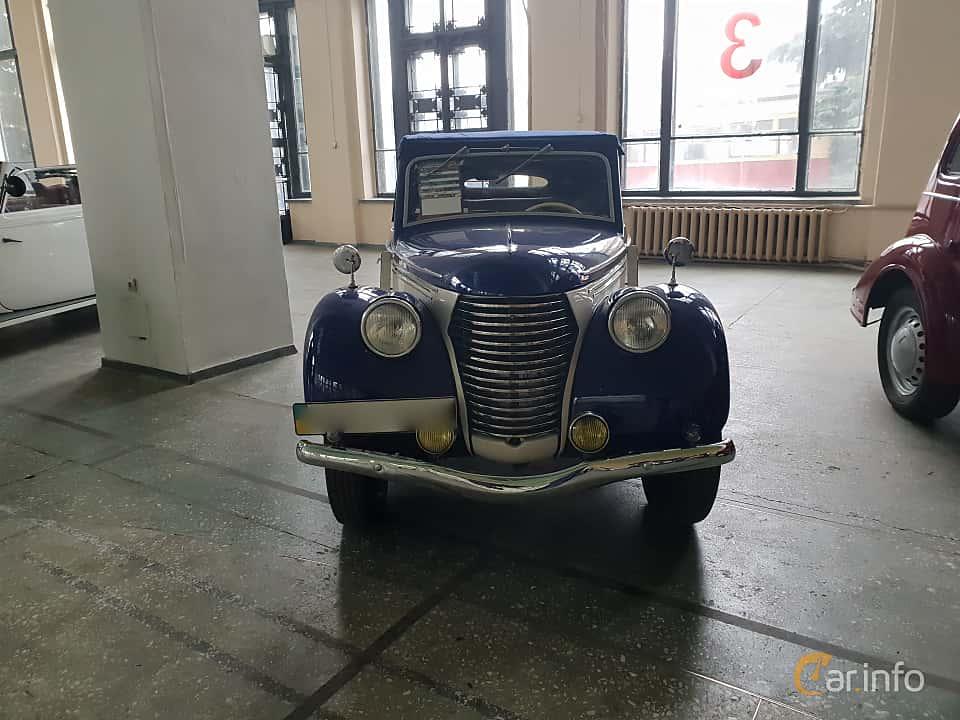 Fram av Skoda Popular 1100 OHV Convertible 1.1 Manual, 30ps, 1939 på Old Car Land no.2 2018
