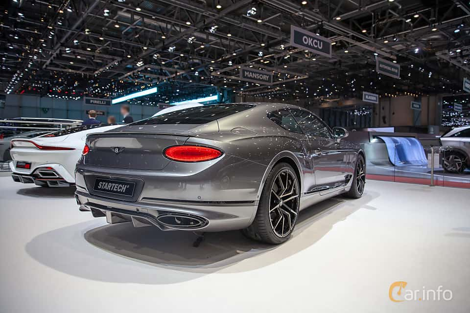 Back/Side of STARTECH Continental GT 6.0 W12 TSI DCT, 635ps, 2019 at Geneva Motor Show 2019