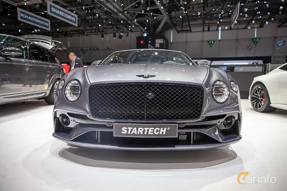Front  of STARTECH Continental GT 6.0 W12 TSI DCT, 635ps, 2019 at Geneva Motor Show 2019