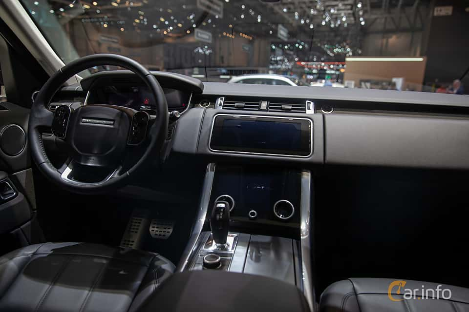 Interior of STARTECH Range Rover Sport 5.0 V8 4WD Automatic, 525ps, 2019 at Geneva Motor Show 2019