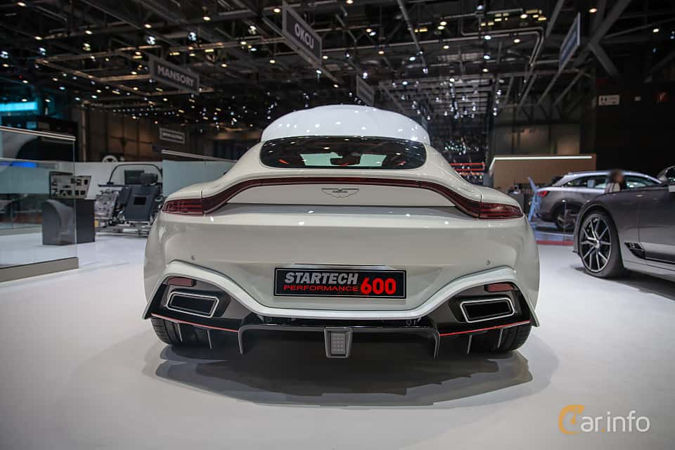 Back of STARTECH Vantage PowerXtra SP600 4.0 V8 Automatic, 600ps, 2019 at Geneva Motor Show 2019
