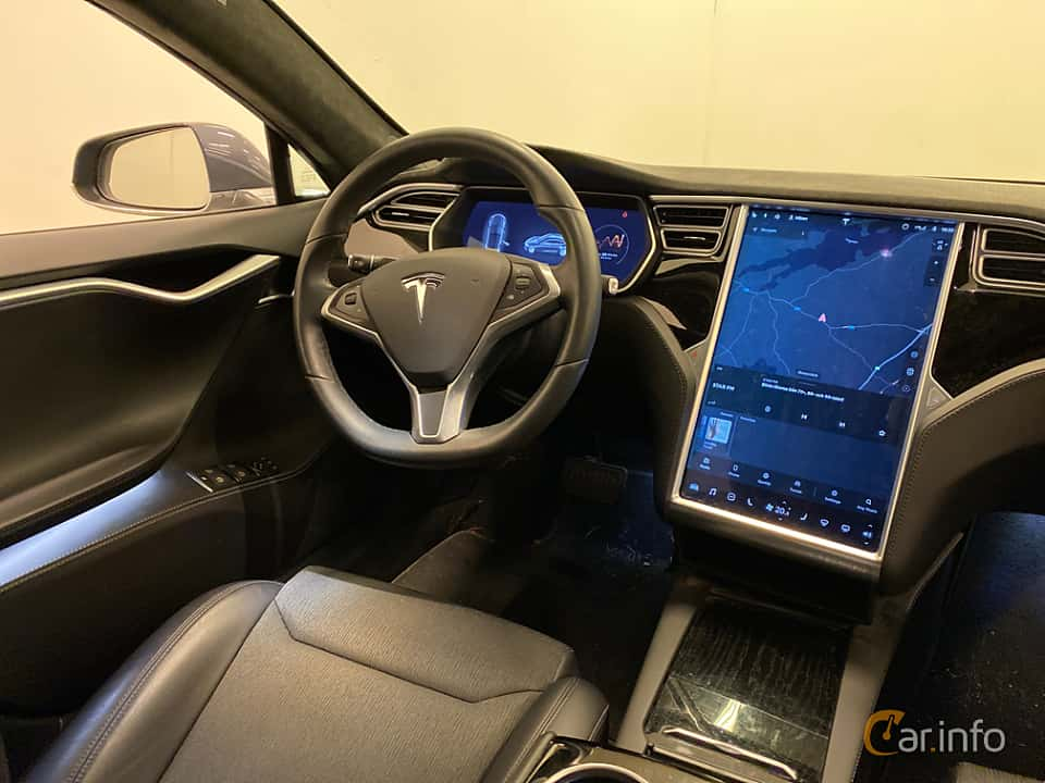 Interiör av Tesla Model S 90D 90 kWh AWD Single Speed, 423ps, 2017