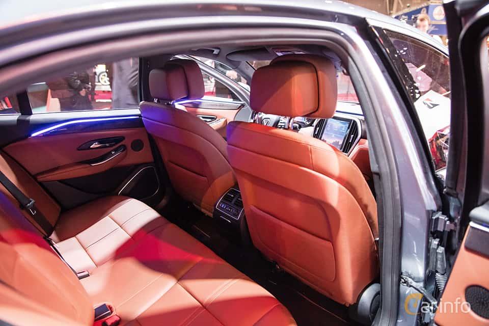 Interior of VinFast LUX A2.0 2019 at Paris Motor Show 2018