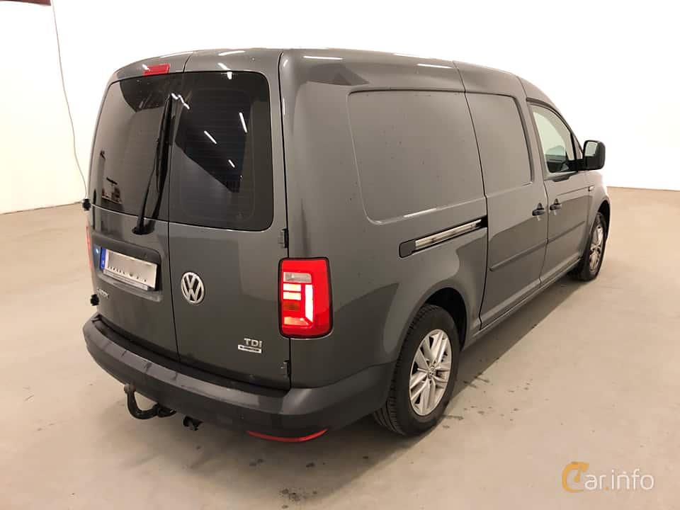 Back/Side of Volkswagen Caddy Maxi 2.0 TDI BlueMotion DSG Sequential, 102ps, 2016