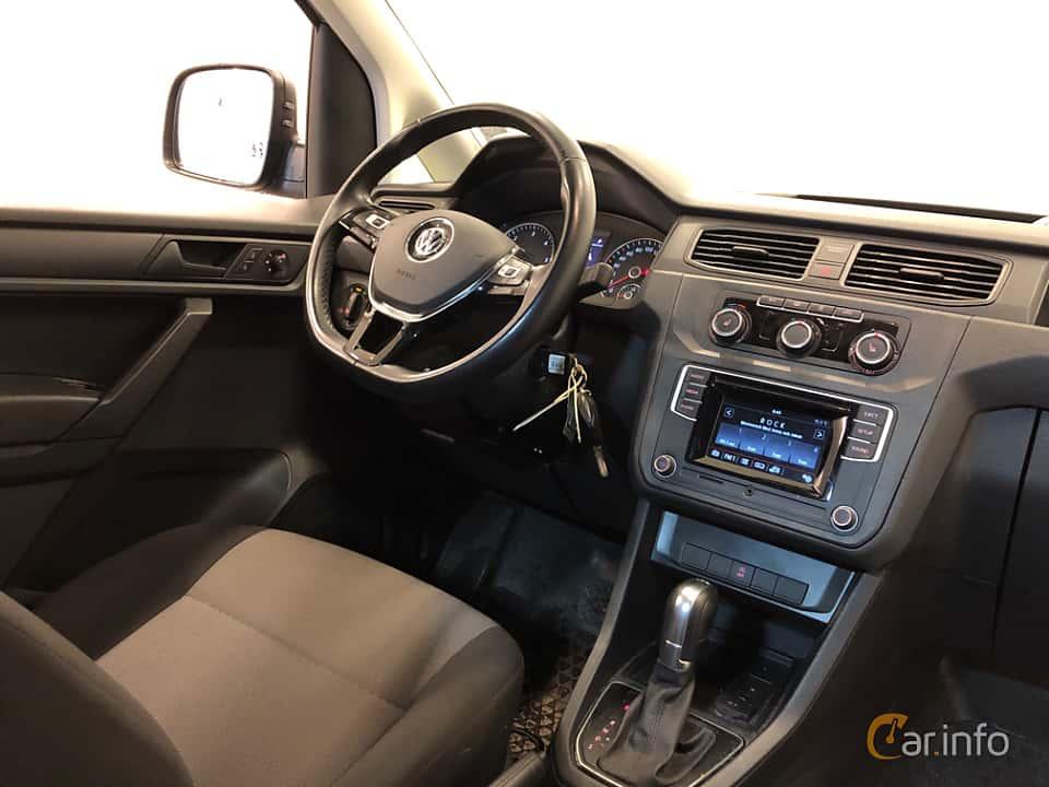 Interior of Volkswagen Caddy Maxi 2.0 TDI BlueMotion DSG Sequential, 102ps, 2016