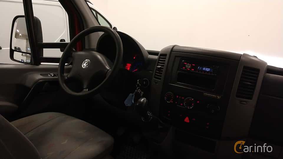 Interiör av Volkswagen Crafter Chassi Double Cab 2.5 TDI Manual, 109ps, 2009