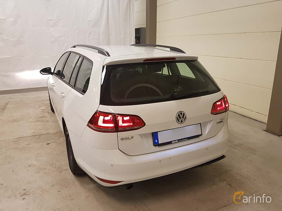 Back/Side of Volkswagen Golf Variant 1.2 TSI Manual, 110ps, 2016