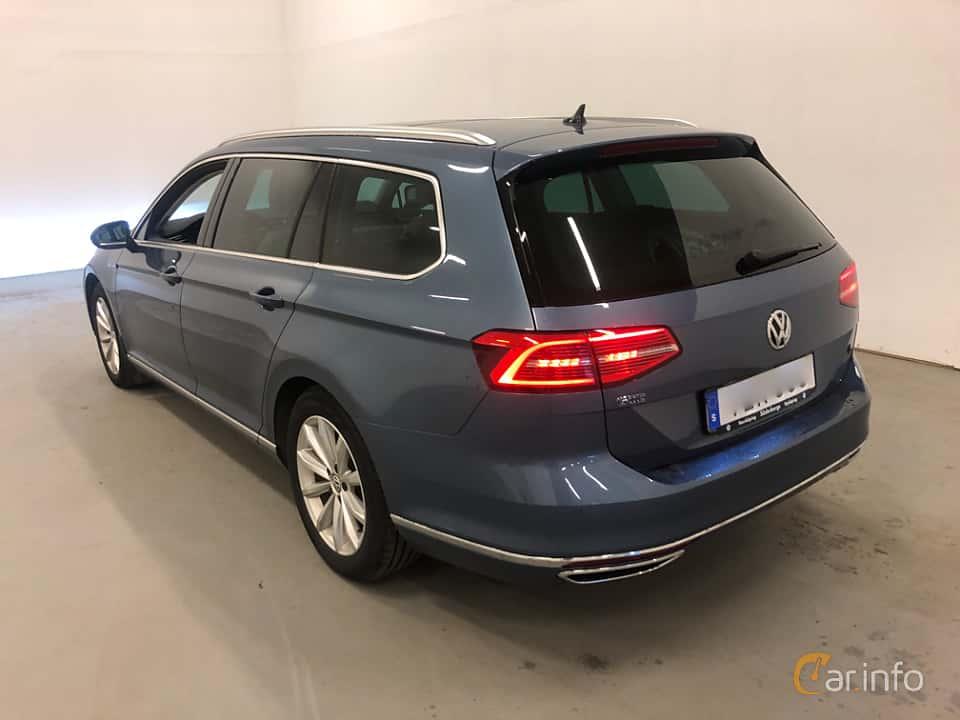 Back/Side of Volkswagen Passat GTE Variant 1.4 TSI DSG Sequential, 218ps, 2017