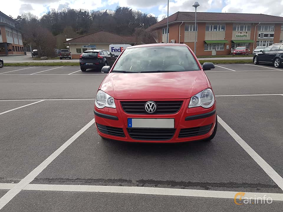 Front  of Volkswagen Polo 3-door 1.4 TDI Manual, 80ps, 2006