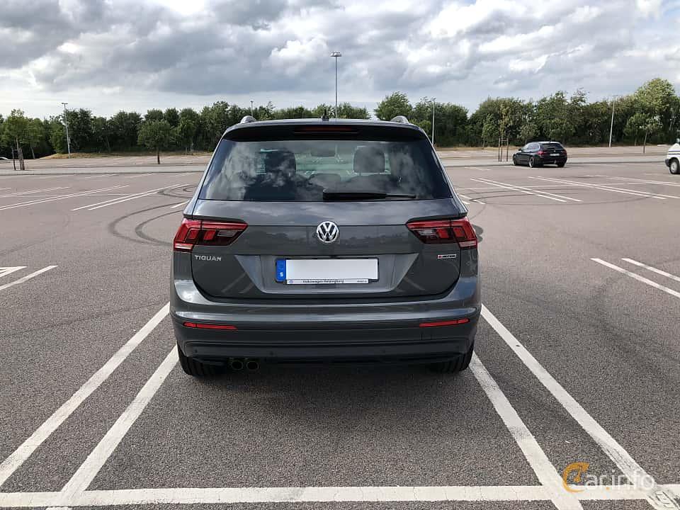 Bak av Volkswagen Tiguan 1.4 TSI BlueMotion 4Motion DSG Sequential, 150ps, 2018