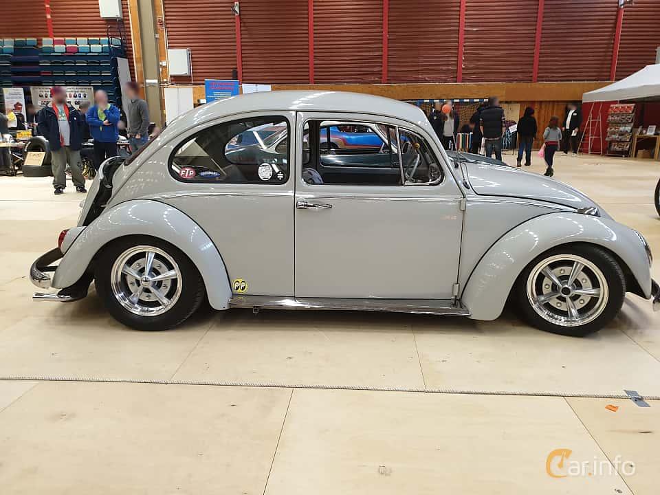 Side  of Volkswagen 1200 1.2 Manual, 34ps, 1965 at Gasonline Mega Swapmeet Katrineholm  2019 Mars