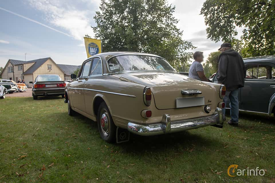 Back/Side of Volvo Amazon 121 P130 1.8 Manual, 68ps, 1964 at Billesholms Veteranbilsträff 2019 augusti