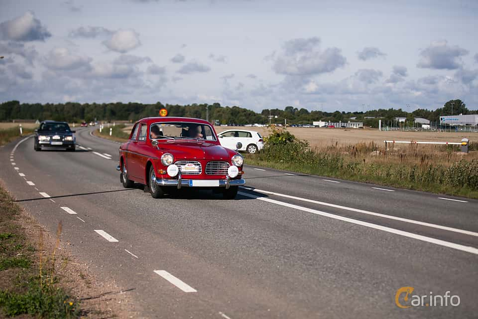 Fram/Sida av Volvo Amazon 123 GT 1.8 Manual, 96ps, 1967 på Lergökarallyt 2018