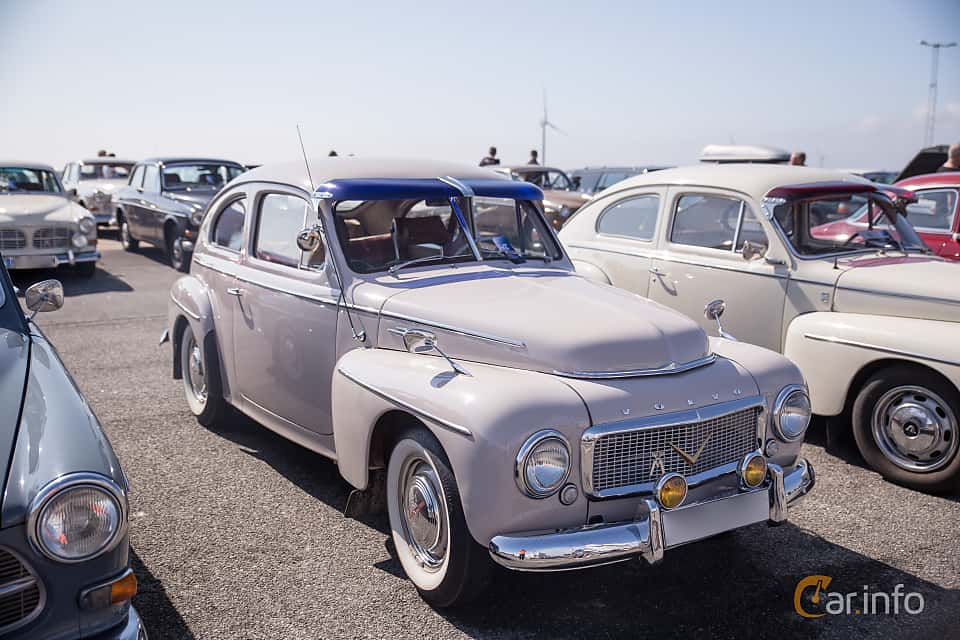 images of a volvo pv444l 1 6 b16a manual 60hp 1957 rh car info
