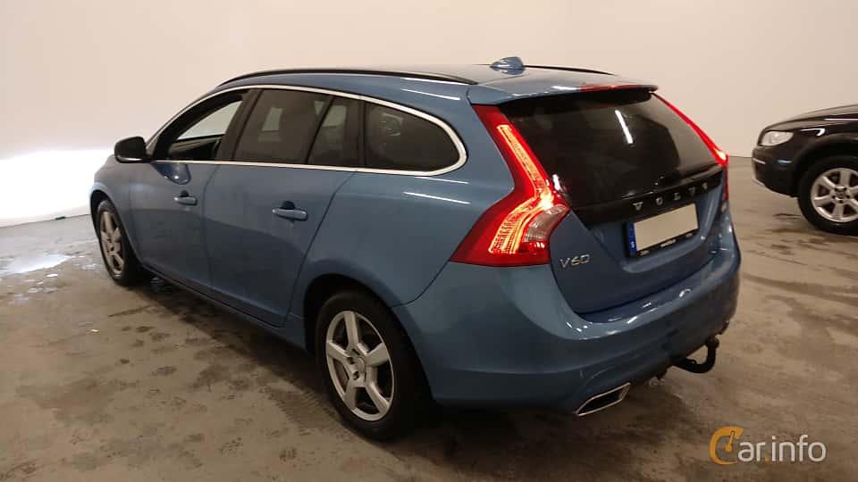 Back/Side of Volvo V60 D4 Manual, 181ps, 2015
