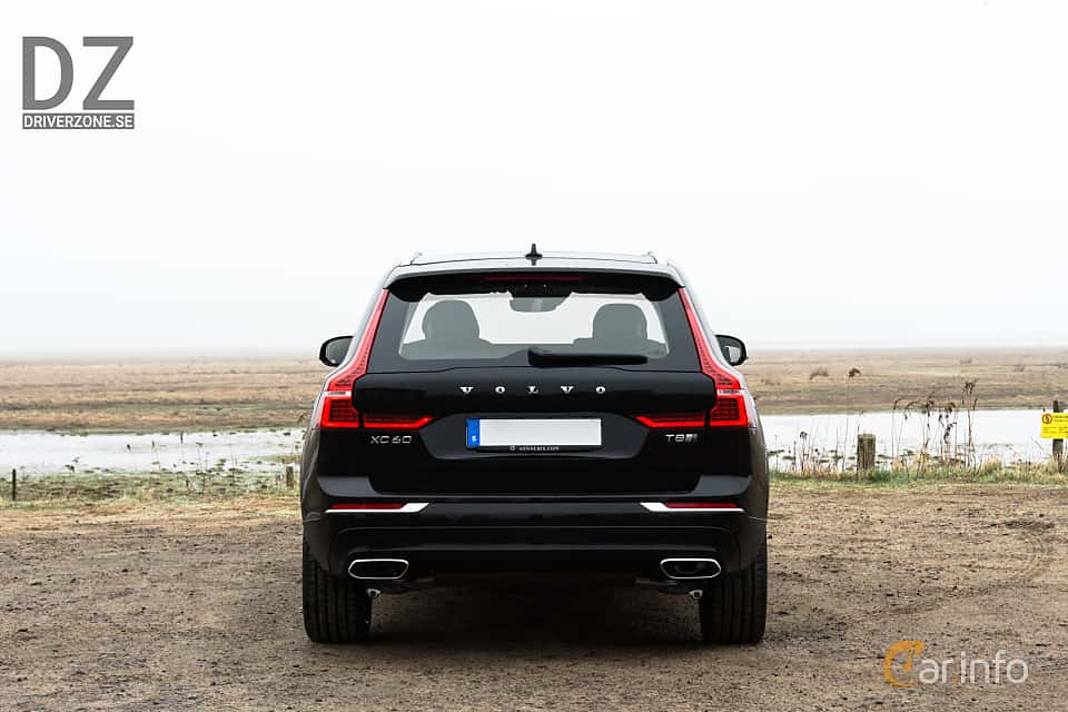 Back of Volvo XC60 T8 AWD Geartronic, 408ps, 2018