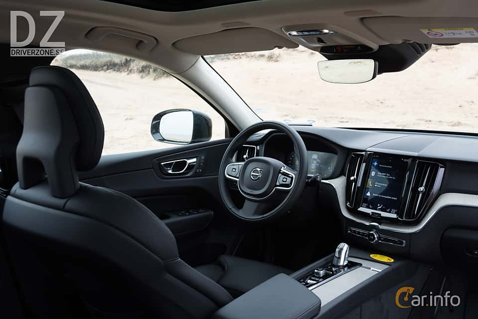 Interior of Volvo XC60 T8 AWD Geartronic, 408ps, 2018