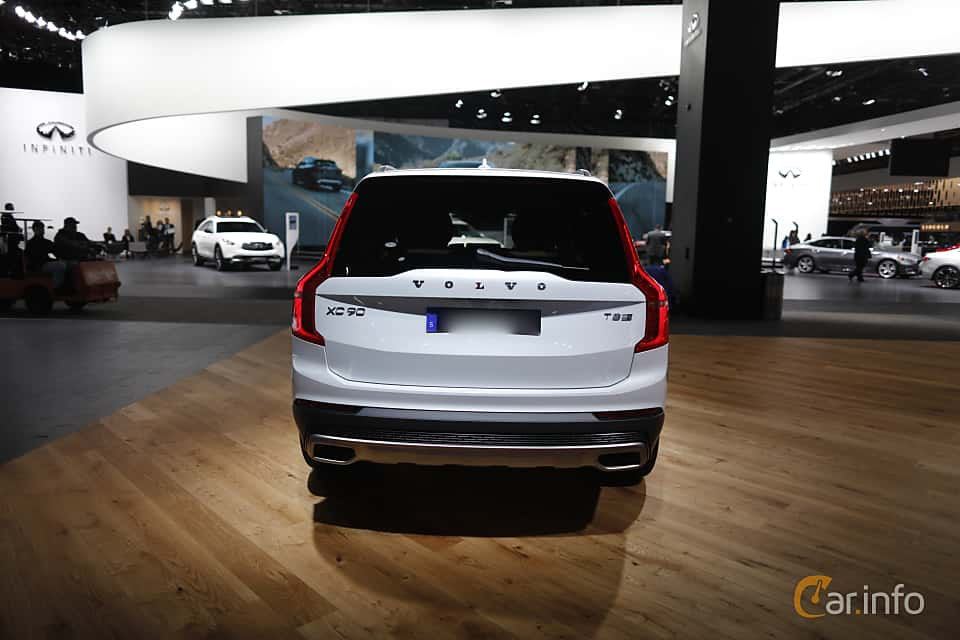 Back of Volvo XC90 T8 AWD Geartronic, 407ps, 2017 at North American International Auto Show 2017
