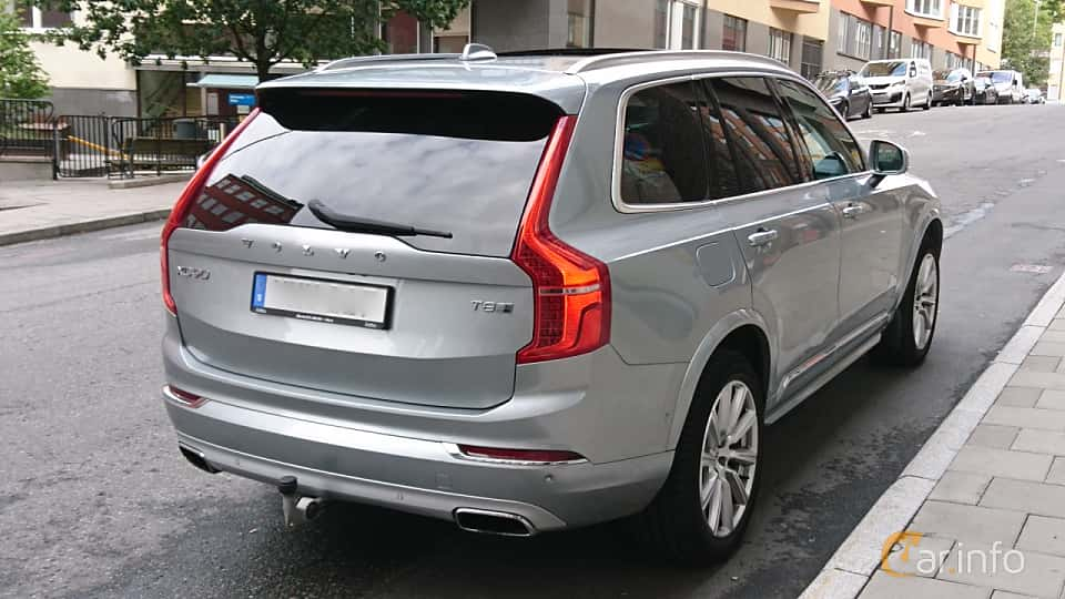 Back/Side of Volvo XC90 T8 TwEn AWD Geartronic, 407ps, 2017