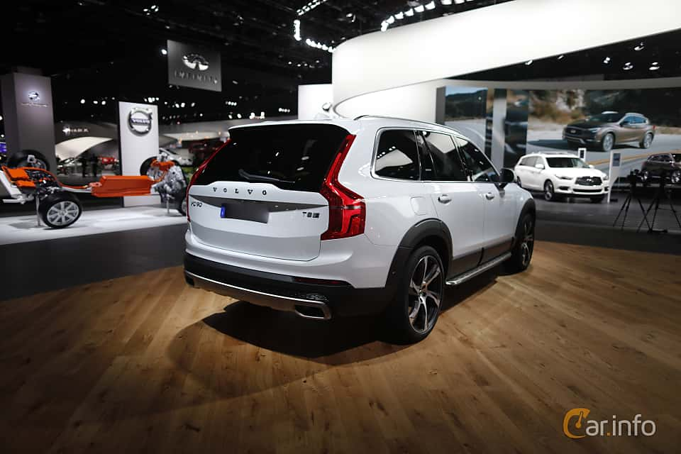 Back/Side of Volvo XC90 T8 AWD Geartronic, 407ps, 2017 at North American International Auto Show 2017