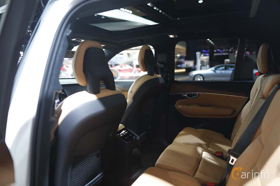 Interior of Volvo XC90 T8 AWD Geartronic, 407ps, 2017 at North American International Auto Show 2017