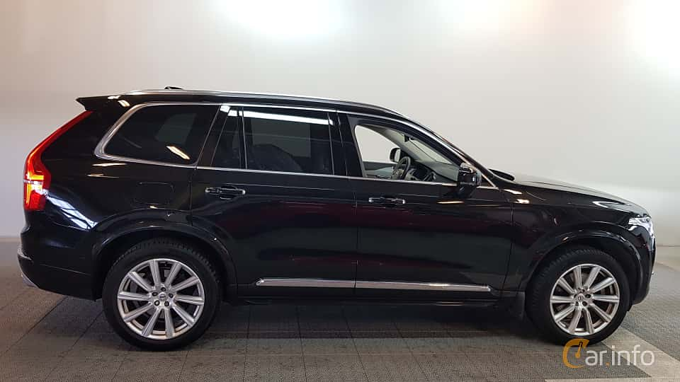 Side  of Volvo XC90 2.0 T8 AWD Geartronic, 407ps, 2016