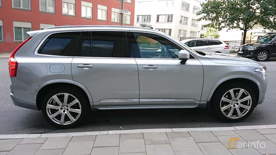 Side  of Volvo XC90 T8 TwEn AWD Geartronic, 407ps, 2016